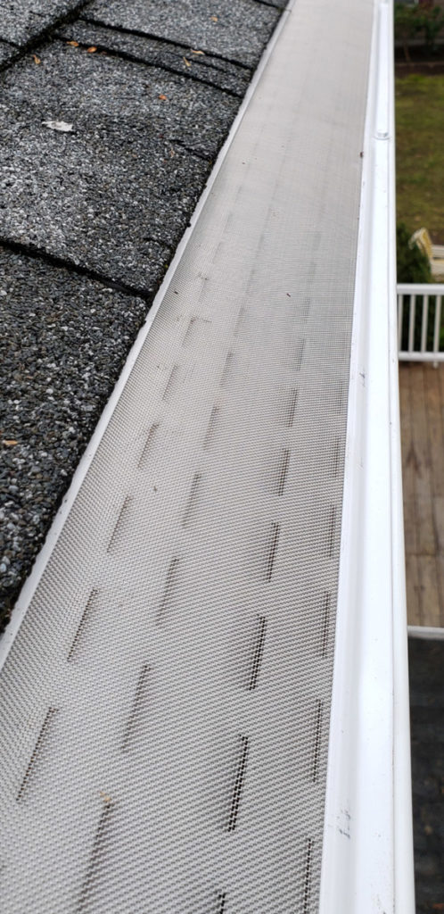 micro mesh stainless steel gutter guards