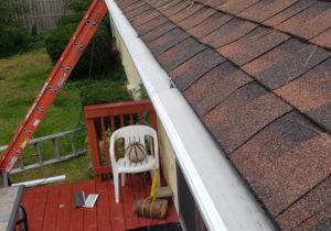 installed gutter guards